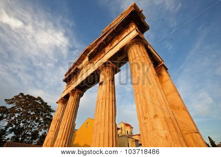 Roman Agora, Athens.