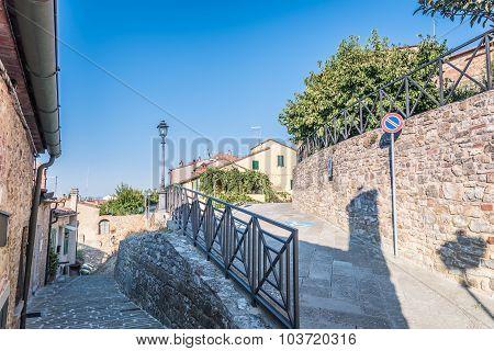The Historic Center Of Lucignano