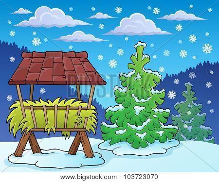 Winter season theme image 2 - eps10 vector illustration.