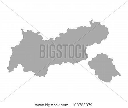 Map Of Tyrol