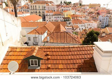 European city roofs
