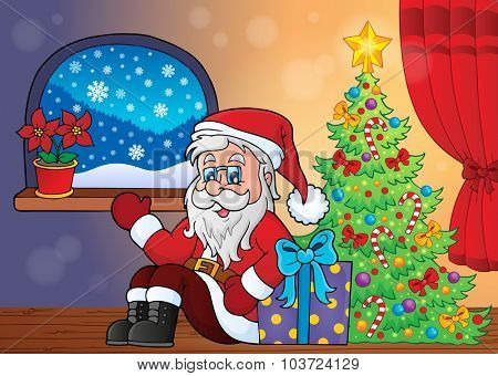 Christmas indoor topic 3 - eps10 vector illustration.
