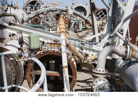 Industrial Construction Material Recycling