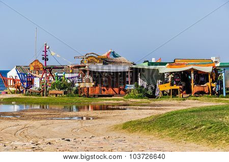 Hippy Buildings, Cabo Polonio, Uruguay