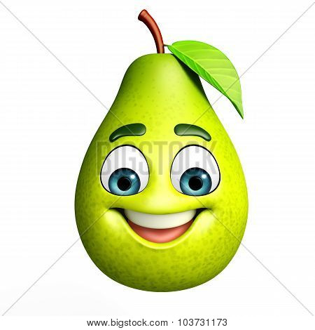 Cartoon Character Of Guava
