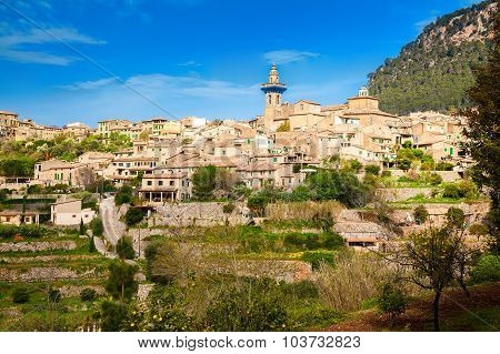 Mountain Village Valldemossa On The Hill