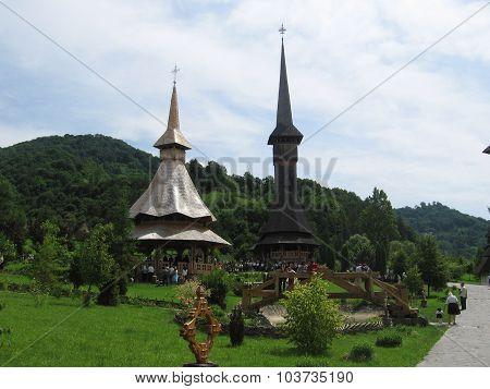 Birsana Monastery, Maramures, Romania