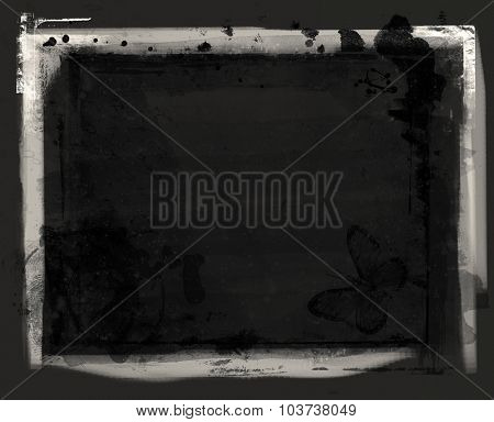 Highly detailed grunge frame  with space for your text or image. Great grunge layer,overlay,background or texture for your projects.