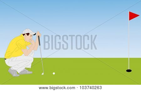 golfer illustration 4