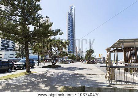 Gold Coast Surfers Paradise esplanade