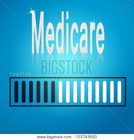 Medicare Blue Loading Bar