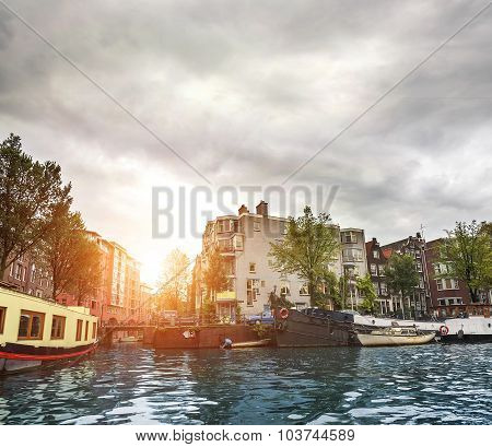 Channels of Amsterdam.