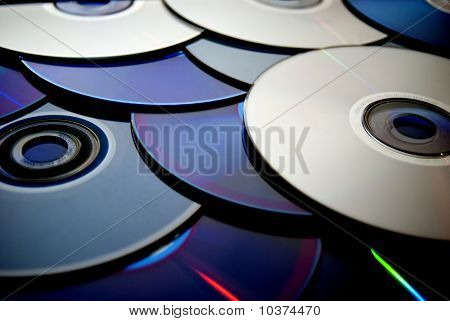 Cd, DVD Blue