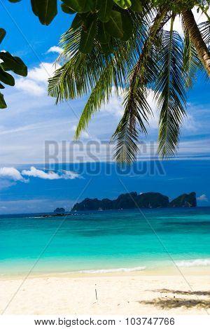Exotic Paradise Island Lagoon