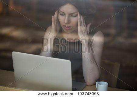 Young Woman Frustrated