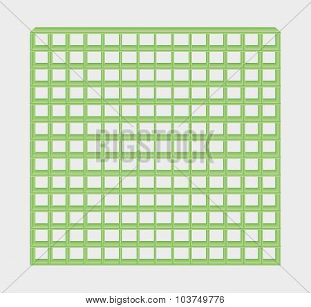 Green Jail Bars