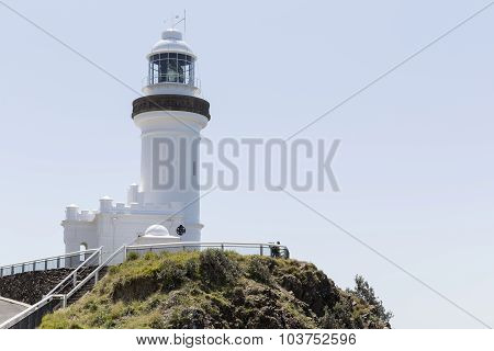 Cape Byron Lighthouse, located in Byron Bay NSW