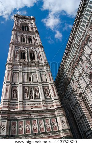 Italy, Florence. The famous landmark Duomo di Firenze