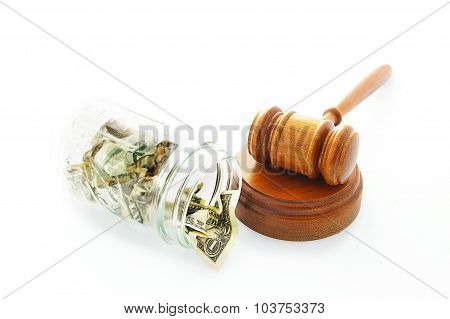 Court Gavel Payment