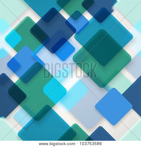 Abstract seamless background of different color squares. Design concept