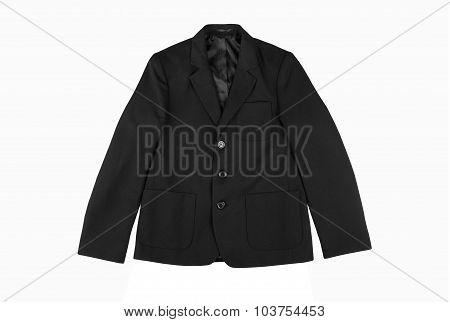 Black Classic Children Jacket