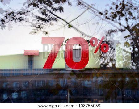 Discount Seventy Percent 1.
