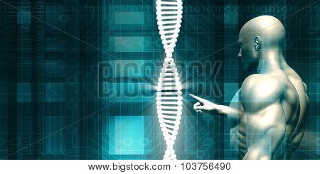 DNA Background and Human Testing Biotechnology as Art