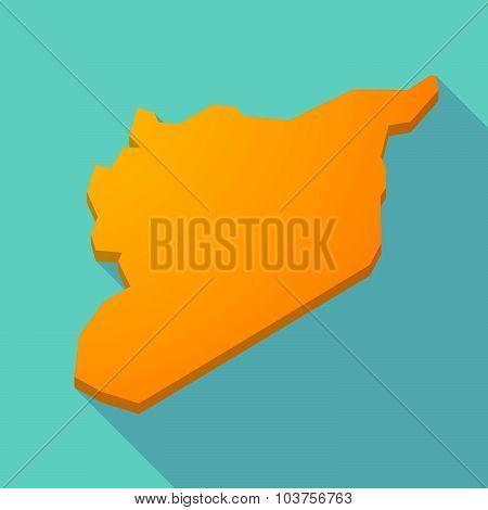 Long Shadow Syria Map