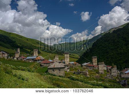 Mountain Village Adishi In Georgia