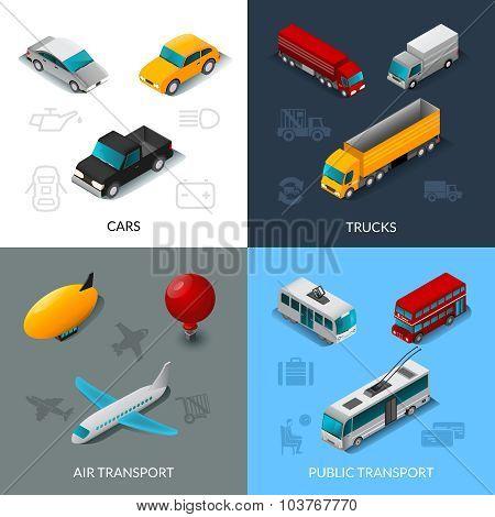 Isometric Transport Set