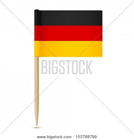Germany flag. Flag toothpick