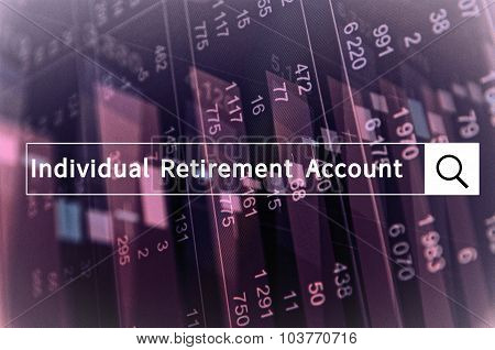 Individual retirement account