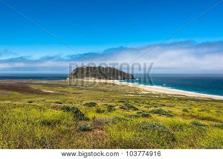 Big Sur coast and beach, California