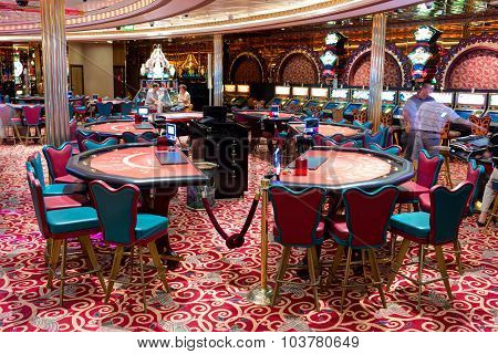 Interior of Casino