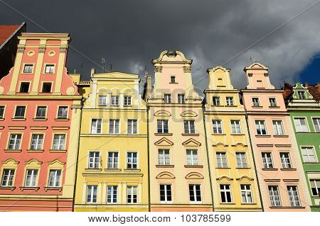 Old Square In Wroclaw, Poland