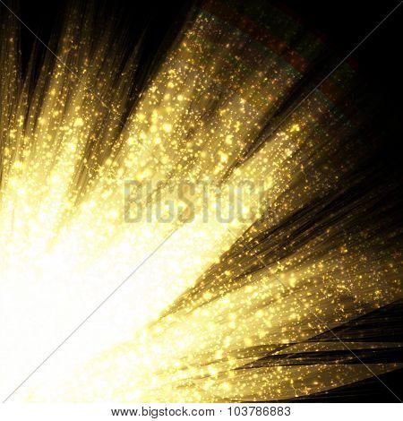 Abstract Light Futuristic Background. Vector Illustration.