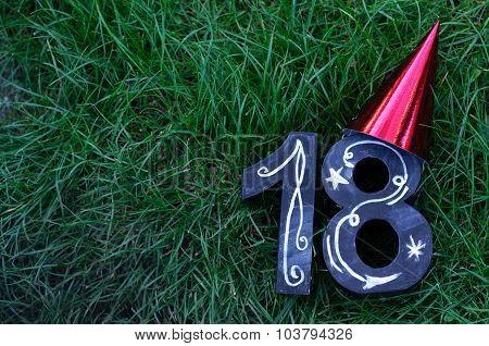 18Th Birthday Concept