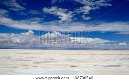 Bolivian Slat Flats