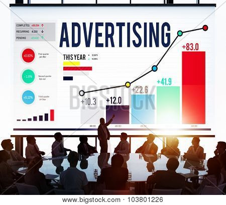 Advertising Marketing Campaign Promotion Branding Concept