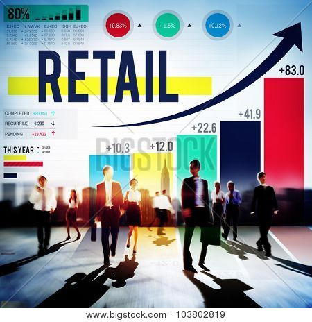 Retail Commerce Consumer Purchase Shopping Concept