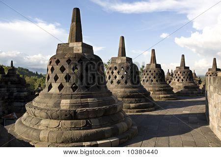 Borobodur stupas