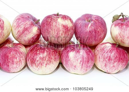Big Red Apples Isolated