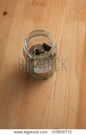 glass jar use as saving container