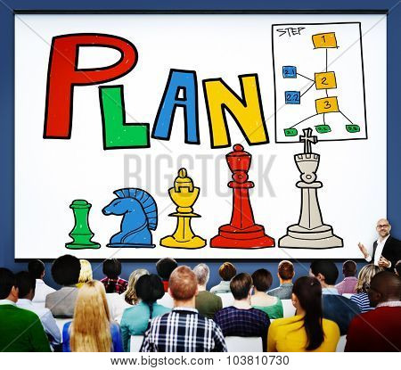 Plan Planning Ideas Process Strategy Vision Concept
