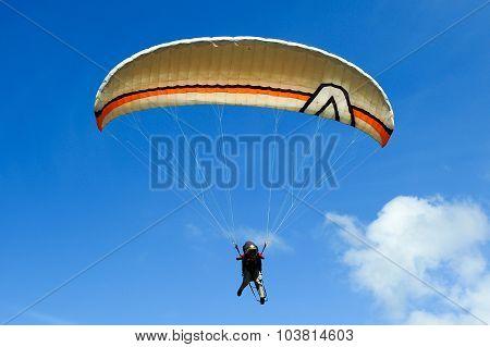 Paragliding in Sabah Borneo