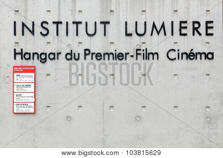 Institut Lumiere in Lyon, France