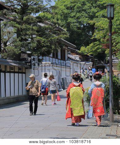 Geisha Japanese girls