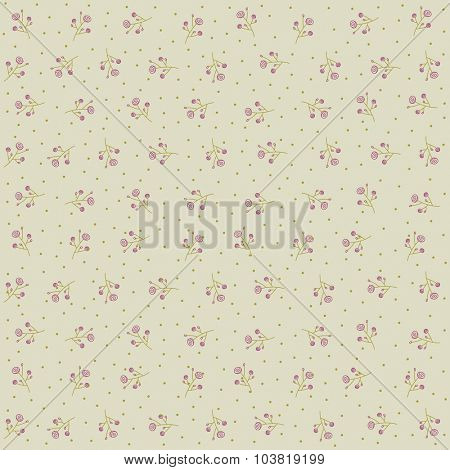 Floral Seamless Pattern abstract vector design.