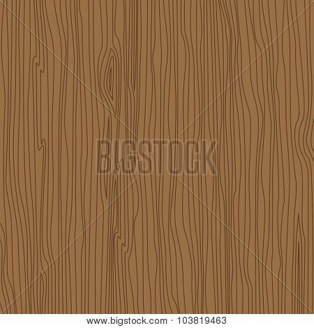 Dark Wood pattern linear style vector illustration. Wooden texture background lineart.