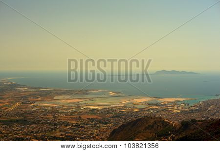 Seaview From Erice